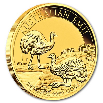 Australien Emu 2020 Gold 1 oz