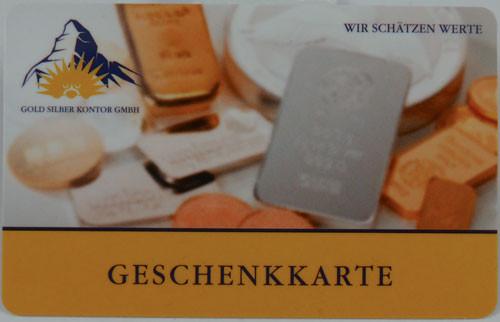 Gutschein Geschenkkarte 10 Euro