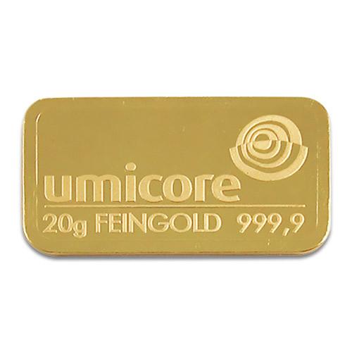 Goldbarren sonstige 20 g
