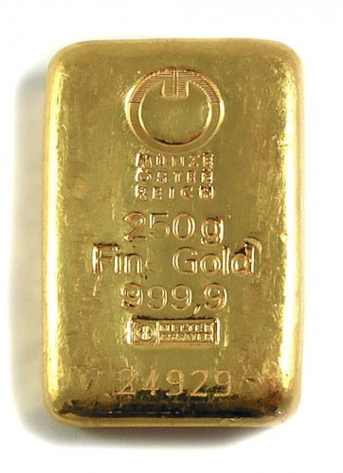 Goldbarren sonstige 250 g
