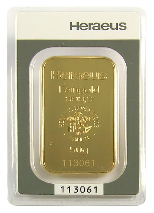 Goldbarren sonstige 50 g