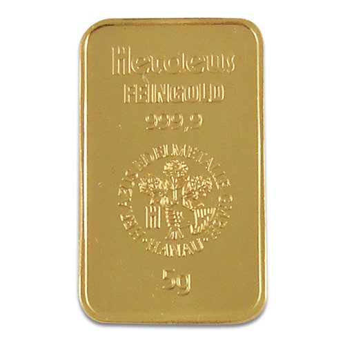 Goldbarren Sonstige 5 g