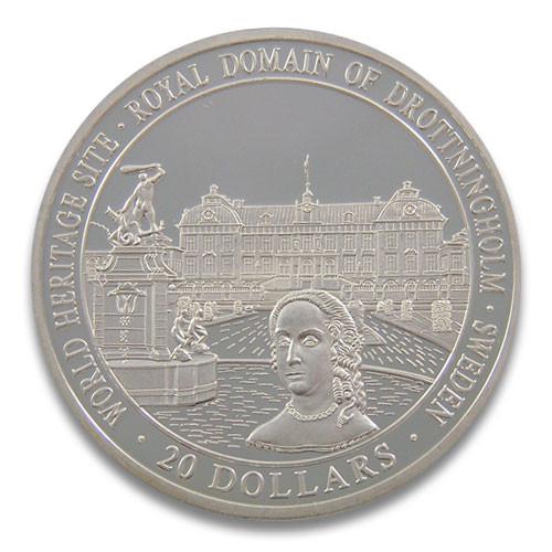 World Heritage Site - Royal Domain of Drottningholm Sweden
