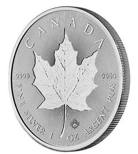 Maple Leaf Silber 1 oz 2019 Incuse