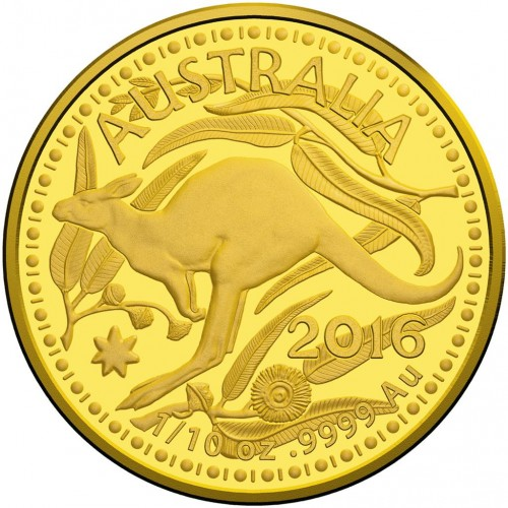Känguru RAM 2016 Gold 1/10 oz
