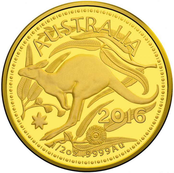Känguru RAM 2016 Gold 1/2 oz