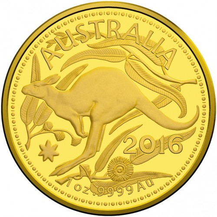 Känguru RAM 2016 Gold 1 oz