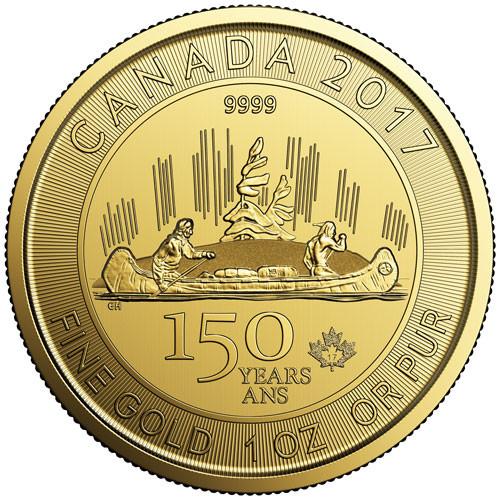Kanada 150 Jahre Voyageur Gold 1 oz 2017
