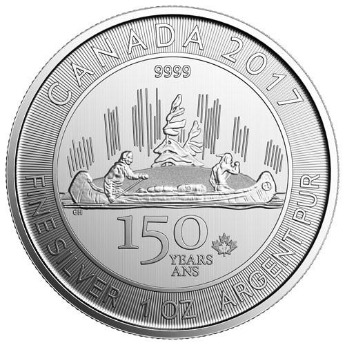 Kanada 150 Jahre Voyageur Silber 1 oz 2017