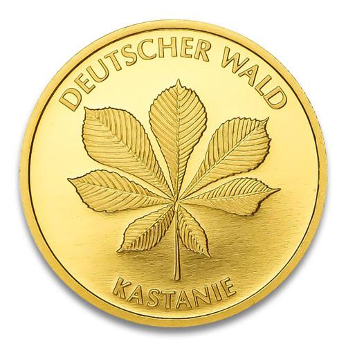 20 Euro Deutscher Wald - Kastanie 2014 Prägestätte D, F, G oder J 1/8 oz
