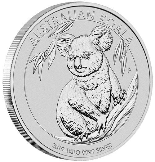 Koala 2019 Silber 1 kg