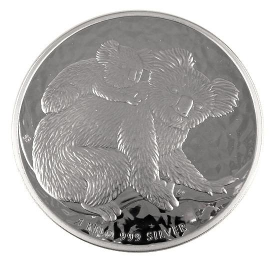 Koala 2008 Silber 1 kg