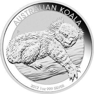 Koala 2012 Silber 1 oz