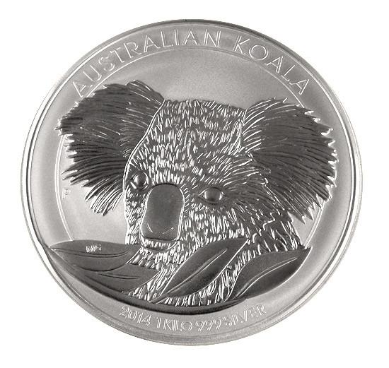 Koala 2014 Silber 1 kg
