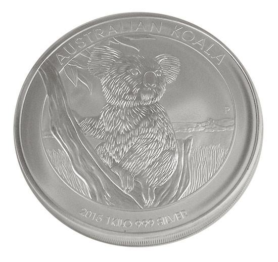 Koala 2015 Silber 1 kg