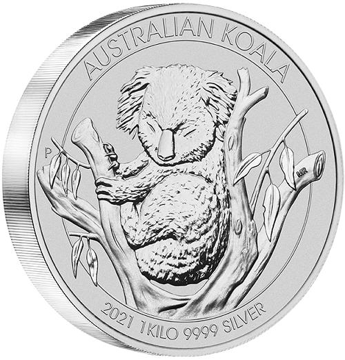 Koala 2021 Silber 1 kg