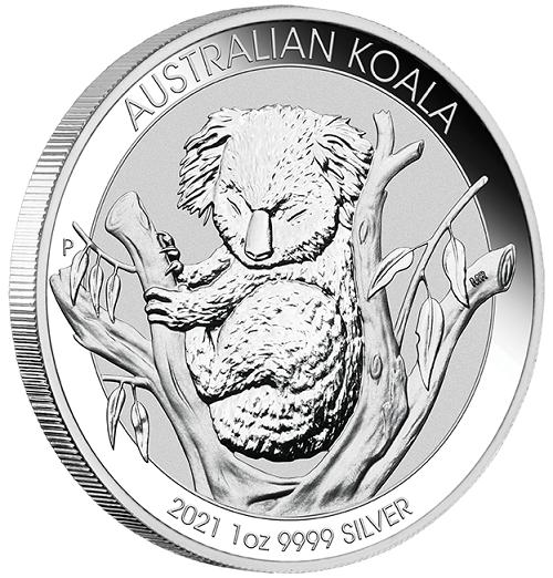 Koala 2021 Silber 1 oz