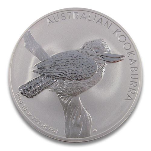 Kookaburra 2010 Silber 10 oz