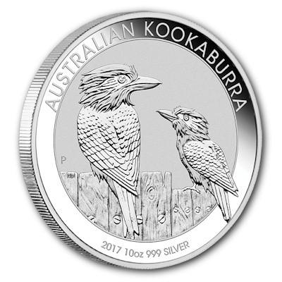 Kookaburra 2017 Silber 10 oz