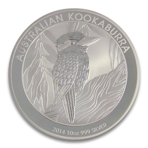 Kookaburra 2014 Silber 10 oz