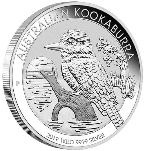 Kookaburra 2019 Silber 1 kg