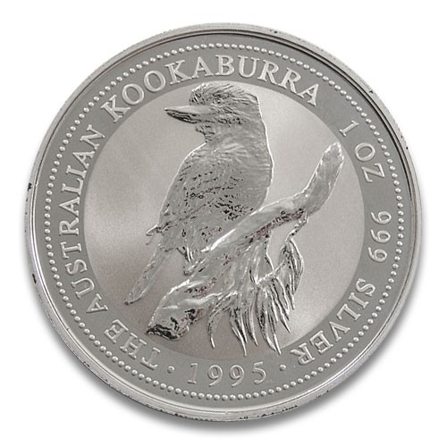 Kookaburra 1995 Silber 1 oz