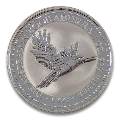 Kookaburra 1996 Silber 1 oz