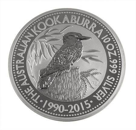 Kookaburra 2015 Silber 10 oz