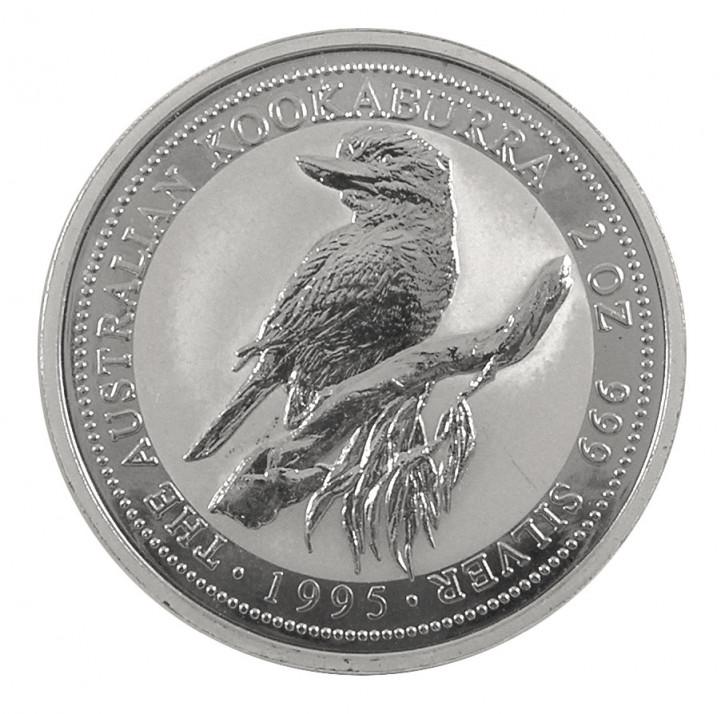 Kookaburra Silber 2 oz 1995