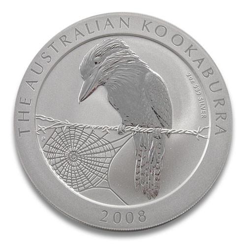 Kookaburra Silber 2 oz 2008