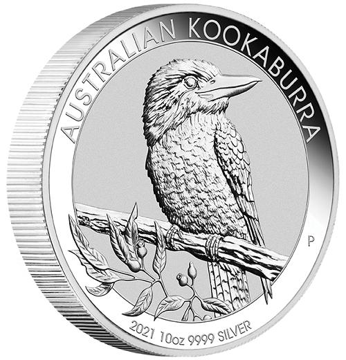 Kookaburra 2021 Silber 10 oz