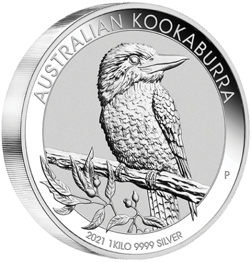 Kookaburra 2021 Silber 1 kg