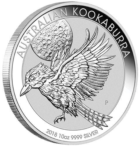 Kookaburra 2018 Silber 10 oz