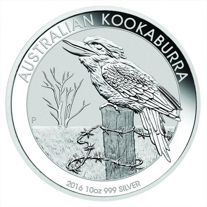 Kookaburra 2016 Silber 10 oz