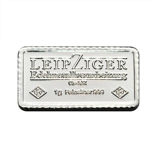 Silberbarren LEV 1 g