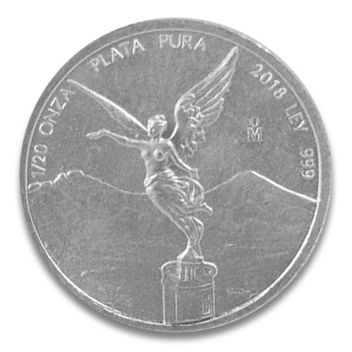 Libertad Silber 1/20 oz 2018
