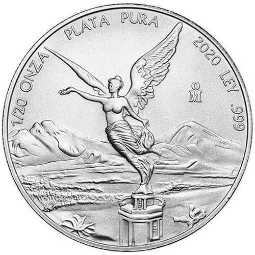 Libertad Silber 1/20 oz verschiedene