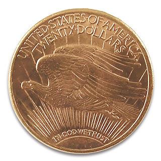 20 USD Double Eagle Saint Gaudens