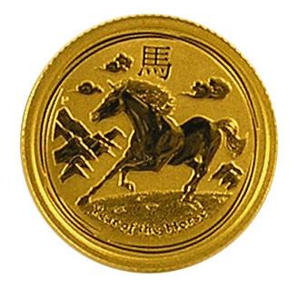 Lunar II Pferd 2014 Gold 1/10 oz