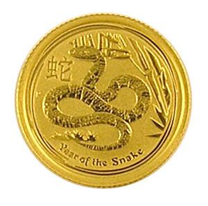 Lunar II Schlange 2013 Gold 1/10 oz