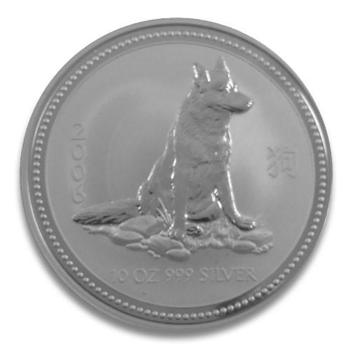 Lunar I Hund 2006 Silber 10 oz