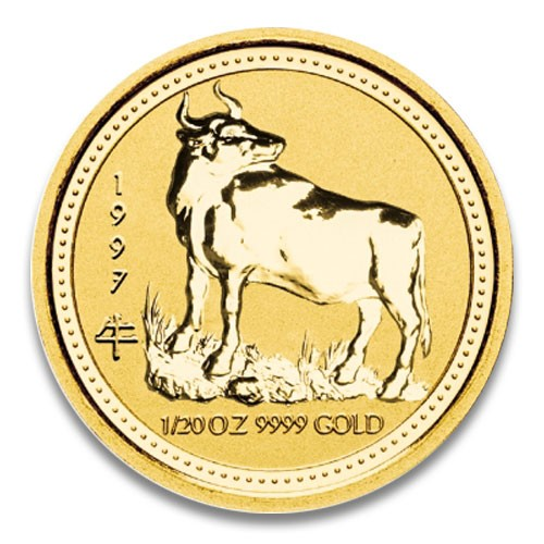 Lunar I Ochse 1997 Gold 1/20 oz