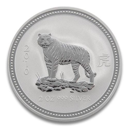Lunar I Tiger 2010 Silber 2 oz