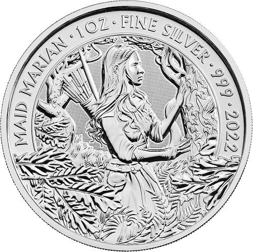 Myths and Legends Silber - Maid Marian - 1 oz 2022