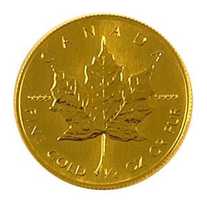 Maple Leaf Gold 1/2 oz verschiedene