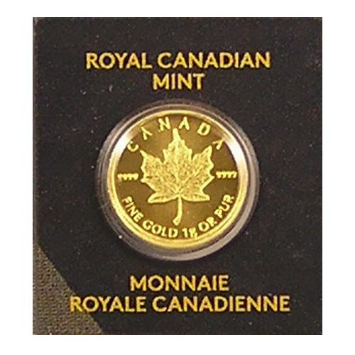 Maple Leaf Gold 1 g verschiedene