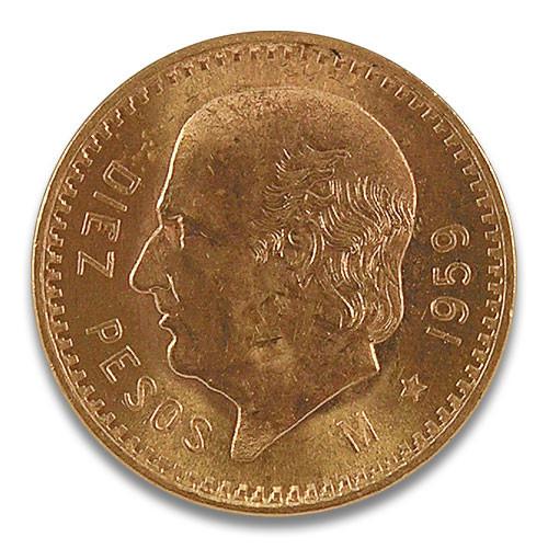 Centenario 10 Pesos 1959