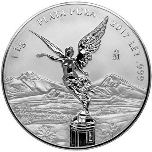 Libertad Silber 1 kg Proof Like 2017