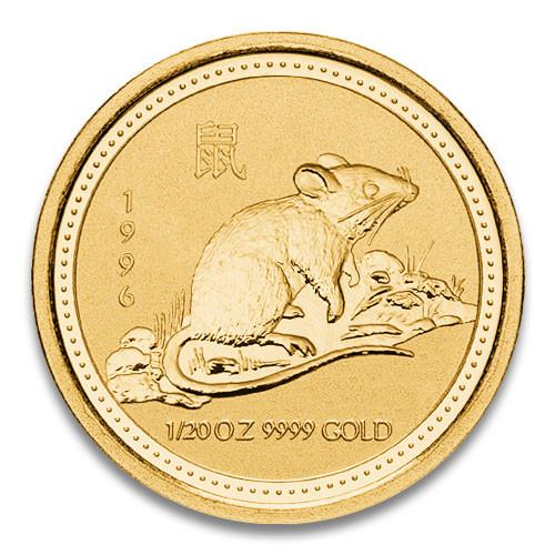 Lunar I  Maus 1996 Gold 1/20 oz