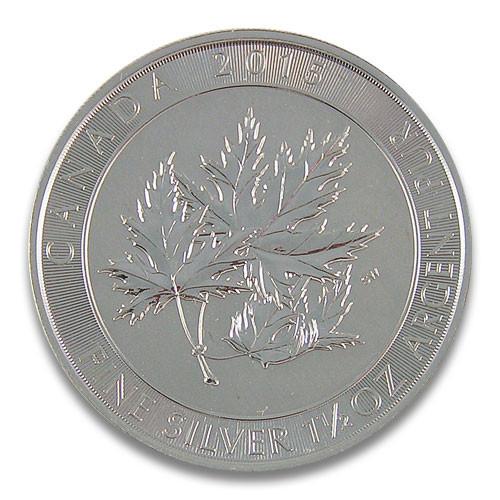 Kanada Multi Maple Leaf Silber 1,5 oz 2015